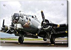 B-17 Bomber Airplane  Acrylic Print