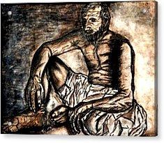 Baba Jee Acrylic Print