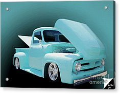 Acrylic Print featuring the photograph Baby Blue 2 by Jim  Hatch