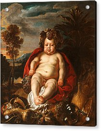 Bacchus As A Child Acrylic Print