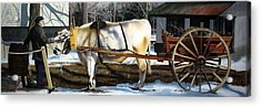 Back In Time Acrylic Print by Denny Bond