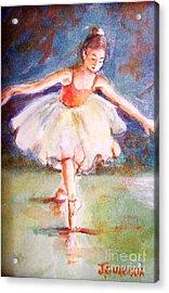 Ballerina 1 Acrylic Print by Joyce A Guariglia