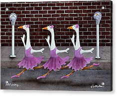 Ballet Parking... Acrylic Print