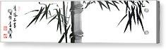 Bamboo Acrylic Print by Chang  Lee