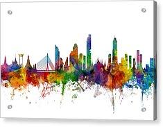 Bangkok Thailand Skyline Acrylic Print