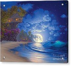 Banyan Moon Acrylic Print