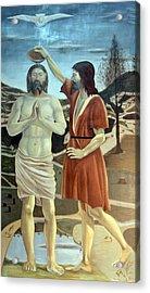 Baptism Acrylic Print by Munir Alawi