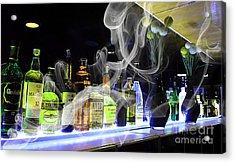 Bar Collection Acrylic Print by Marvin Blaine