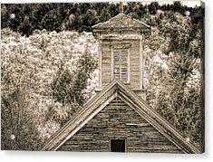 Barn Montgomery Vermont Acrylic Print