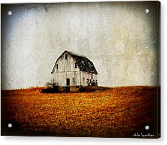 Barn On The Hill Acrylic Print