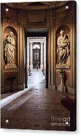 Baroque Chapel Acrylic Print by Jose Elias - Sofia Pereira
