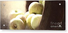 Basket Of Apples Acrylic Print
