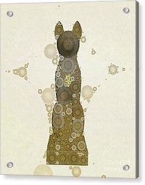 Bastet, Goddess Of Egypt, Pop Art By Mb Acrylic Print