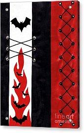 Bat Outa Hell Acrylic Print by Roseanne Jones