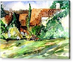 Bath England Acrylic Print by Mindy Newman