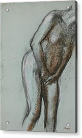 Bather  Acrylic Print by Edgar Degas