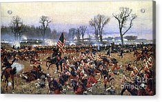 Battle Of Fredericksburg - To License For Professional Use Visit Granger.com Acrylic Print
