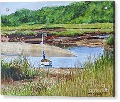 Bayside Marsh Acrylic Print