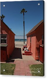 Beach Cottages Acrylic Print