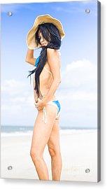 Beach Holiday Acrylic Print by Jorgo Photography - Wall Art Gallery