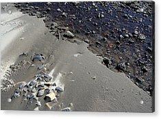 Acrylic Print featuring the photograph Beach Rocks 3 by Joanne Coyle
