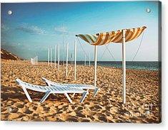 Beach Shader Acrylic Print
