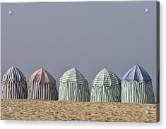 Beach Tents Acrylic Print
