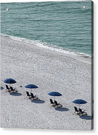 Acrylic Print featuring the photograph Beach Therapy 1 by Marie Hicks