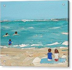 Beach9 Acrylic Print by Diana Bursztein
