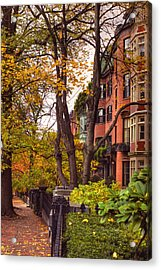Beacon Hill Acrylic Print by Joann Vitali