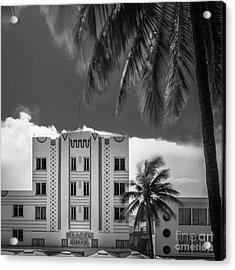Beacon Hotel Miami Acrylic Print