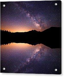 Bear Lake Milky Way Acrylic Print