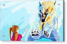 Bear Acrylic Print by Lidija Ivanek - SiLa