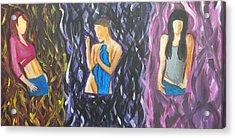 Beauty Of Women  Acrylic Print