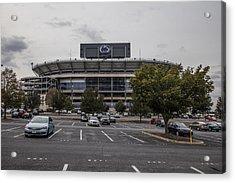 Beaver Stadium Penn State  Acrylic Print by John McGraw