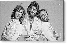 Bee Gees Collection Acrylic Print