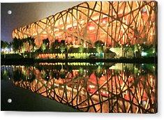 Beijing National Stadium Acrylic Print