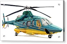 Bell 430 Acrylic Print by Lyle Brown