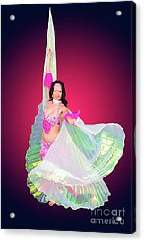 Belly Dancer  Acrylic Print by Ilan Rosen