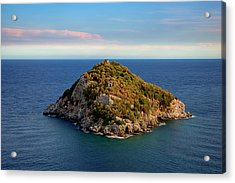Acrylic Print featuring the photograph Bergeggi Island by Enrico Pelos