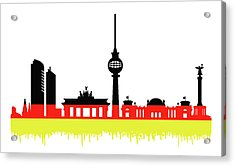 Berlin Skyline Acrylic Print
