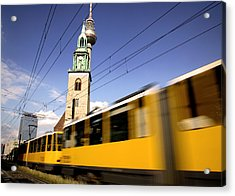 Berlin Tram Acrylic Print