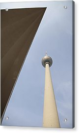 Berlin Tv Tower Acrylic Print