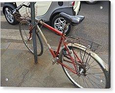 Bicicletta Acrylic Print by JAMART Photography
