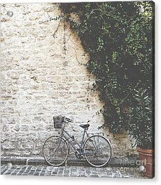 Bicycle Acrylic Print by Ivy Ho
