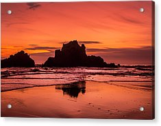 Big Sur Sunset Acrylic Print