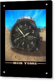 Big Time Acrylic Print by Mike McGlothlen