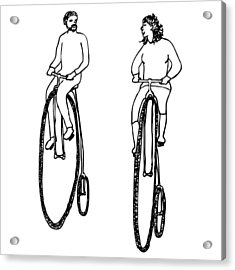 Bike Buddies Acrylic Print by Karl Addison