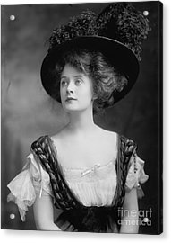 Billie Burke Acrylic Print by Celestial Images
