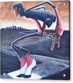 Billie Jean Acrylic Print by Tu-Kwon Thomas